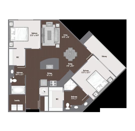 Steelworks Floorplan